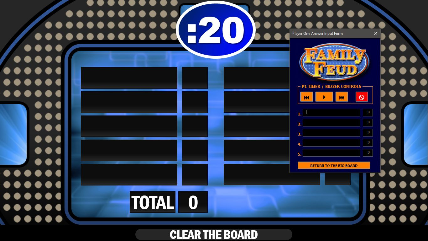Family Feud Board Template from i.pinimg.com