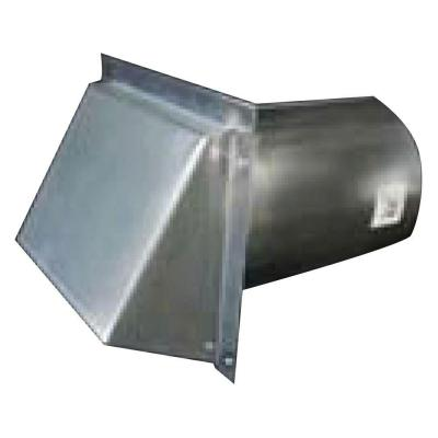 Speedi Products 4 In Round Galvanized Wall Vent With Spring