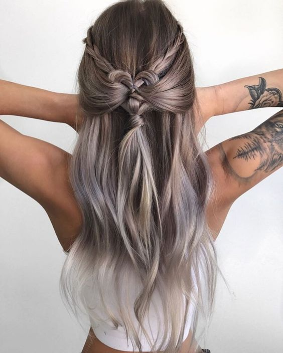 15 Easy Hairstyles For Long Hair | Stylish hairstyles, Long curls ...