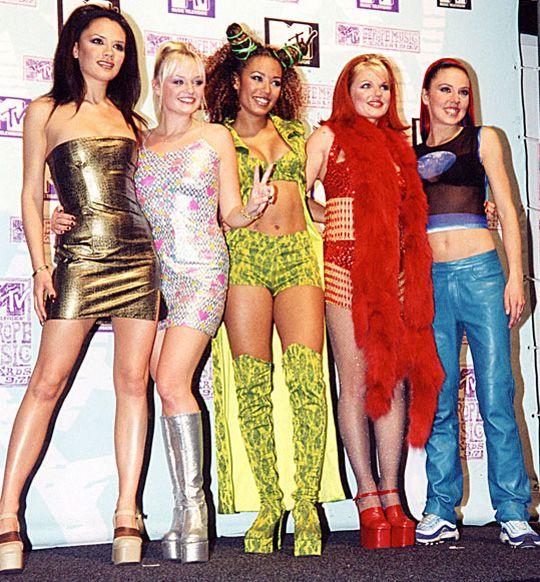 spice girls star sign style celebs pinterest 90er 90er party und partyoutfit. Black Bedroom Furniture Sets. Home Design Ideas