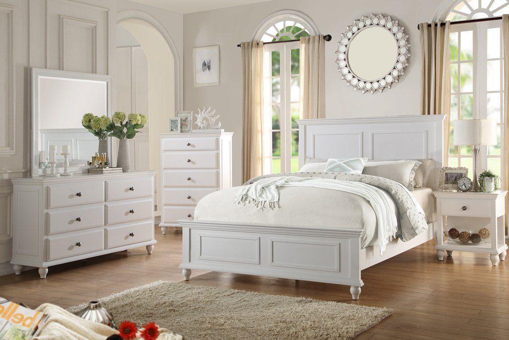 Master Bedroom Set - White or Black #contemporarybedroomsets
