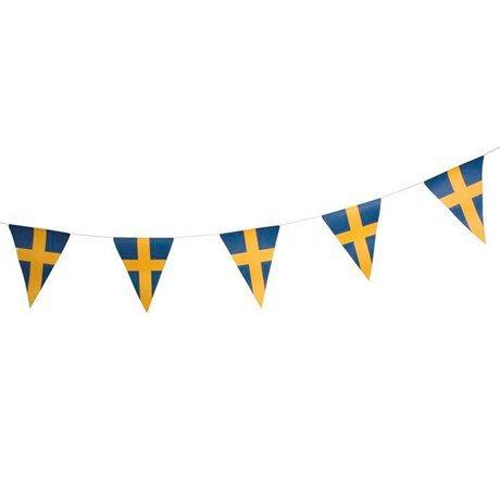 svenska flaggor och vimplar