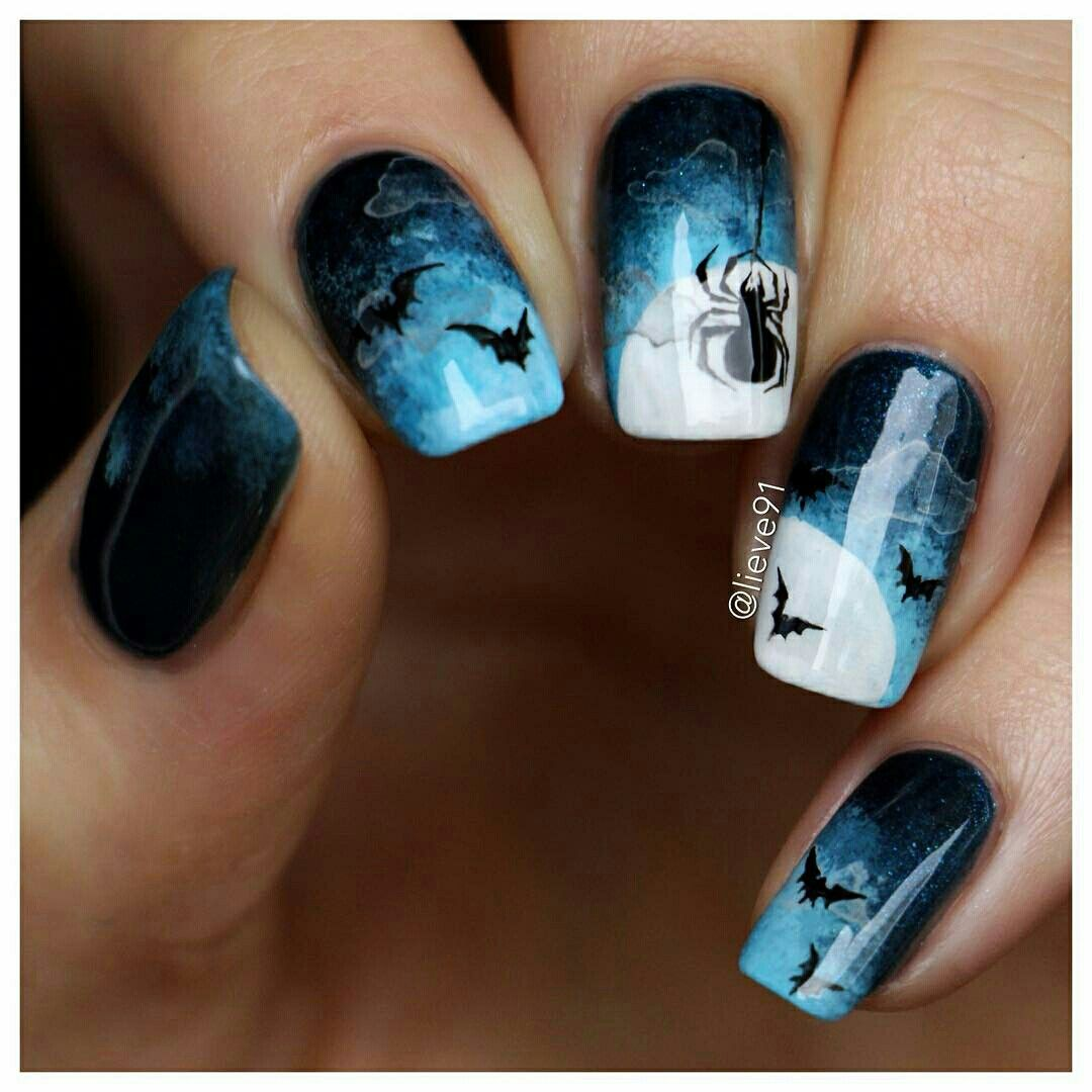 Pin von Claudia Guisao auf Halloween Nails | Pinterest