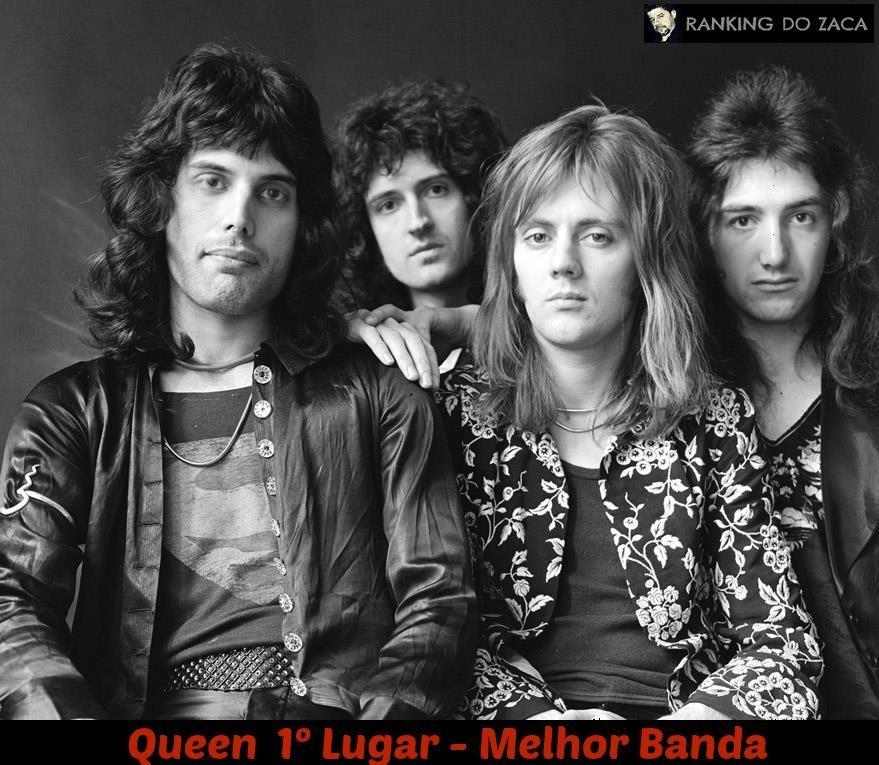 Queen 1º Lugar Como A Maior Banda De Todos Os Tempos No Ranking