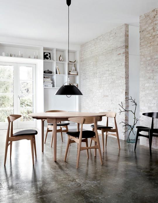 Black And White Dining Room Ideas Modern Dining Room Dining Room Industrial Dining Room Design