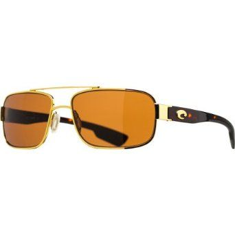 eb699cc7615 Costa Del Mar Tower Polarized Sunglasses - Costa 580 Glass Lens  Gold Copper