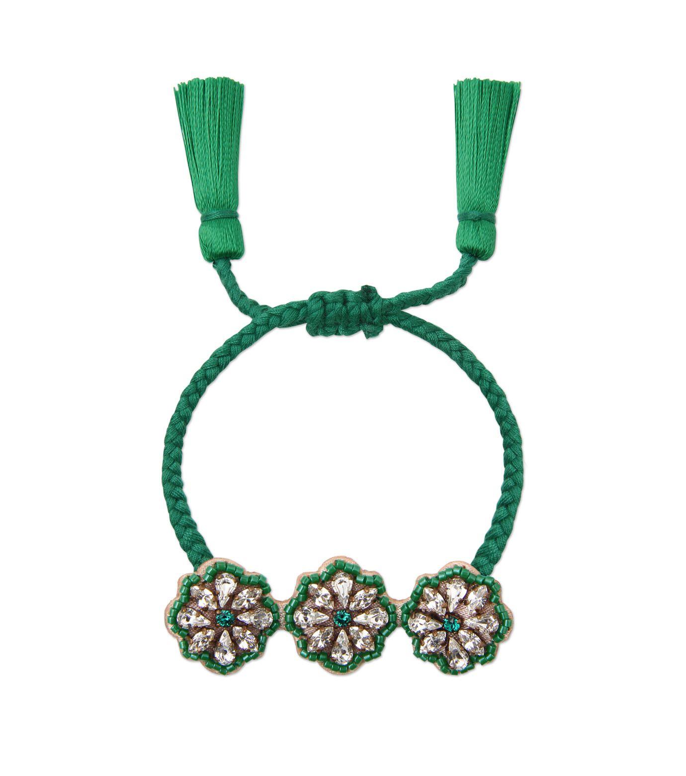 シュローク/Shourouk - Athna Bracelet Flower-GREEN(ブレスレット/bracelet)   RESTIR リステア