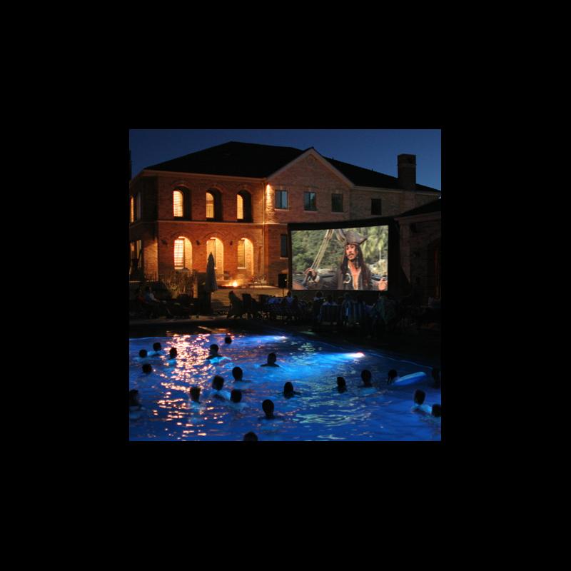 Open Air Cinema CineBox Pro 16'x9' Outdoor High Def