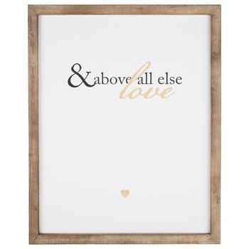 And Above All Else Wood Wall Decor Wall Signs Wall Decor Quotes Wall Decor Online