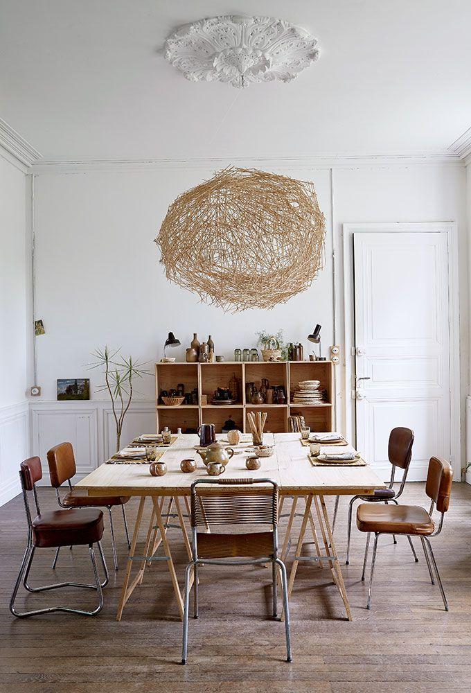 Idées récup une maison créative avec des caisses en bois