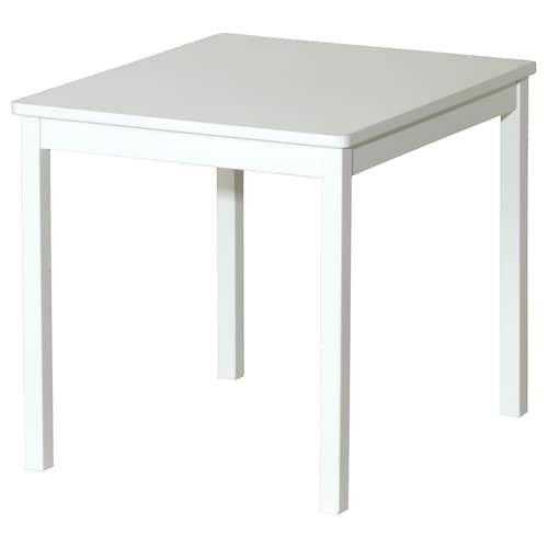 Kritter Table Enfant Blanc 59x50 Cm Avec Images