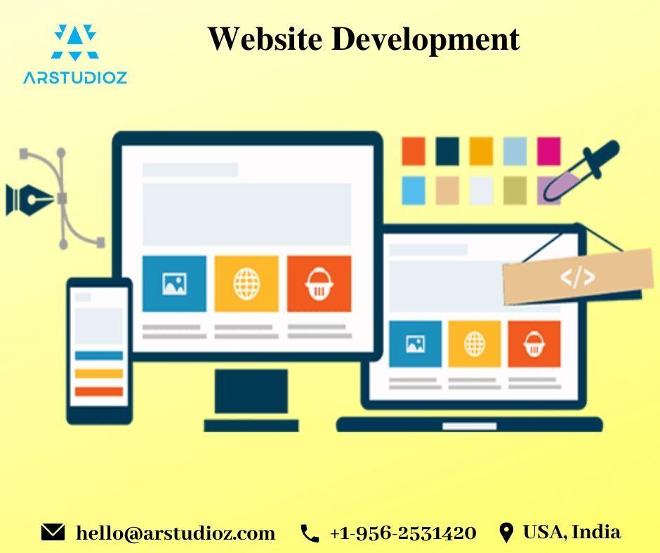 Major Role Of Website Development Company Arstudioz Web Design Company Web Design Services Web Development Design