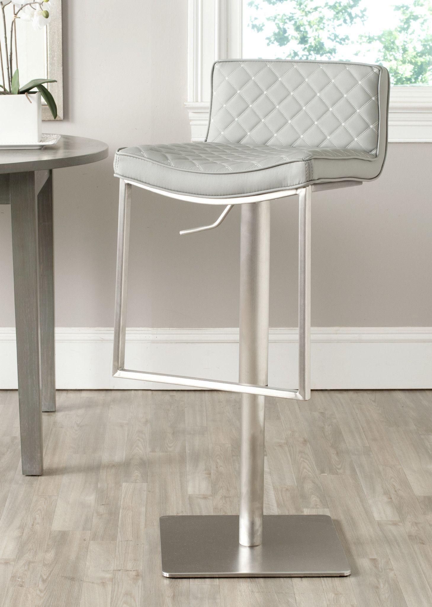 Super Safavieh Claudio Swivel Barstool Barstool Bar Stools Lamtechconsult Wood Chair Design Ideas Lamtechconsultcom
