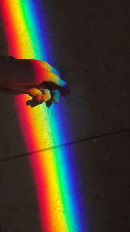 Pin by Nicky on Moon/ Night Sky Aesthetic | Rainbow ...