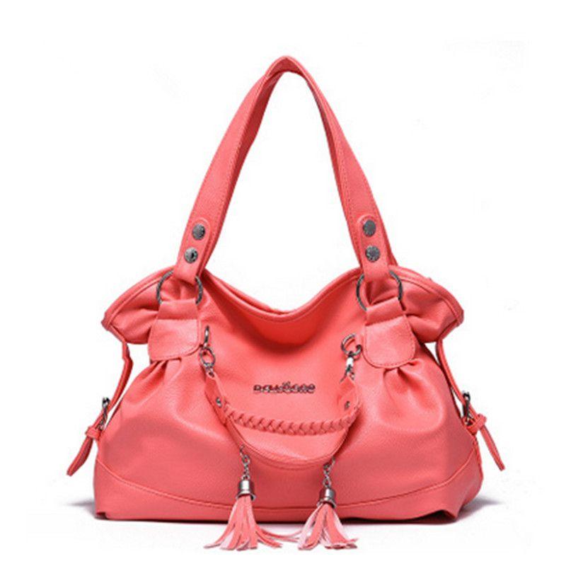 women bag messenger bags bolsa feminina handbags famous brands handbag  leather crossbody for fashion bolsas soft Tassel hand bag 0dfcca0d86bbd