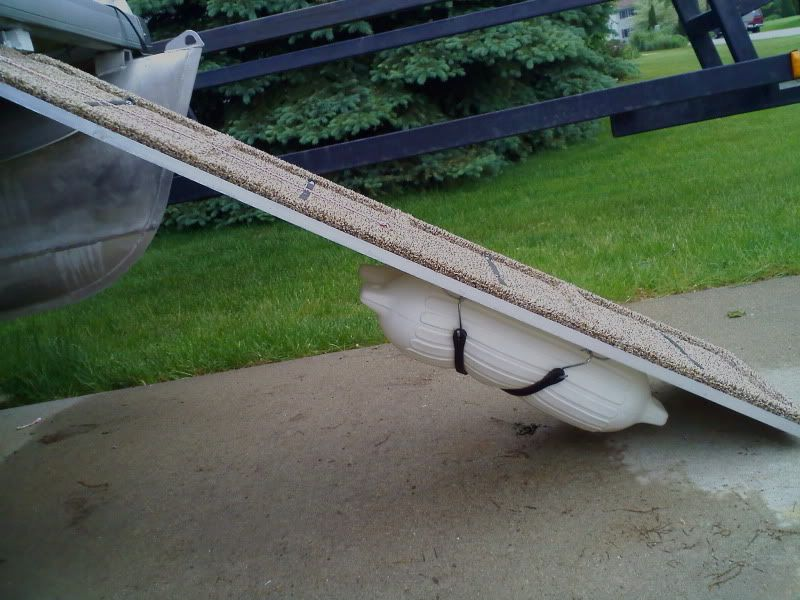 Home made ramp w/ fenders to help float | On the Lake/Water ...
