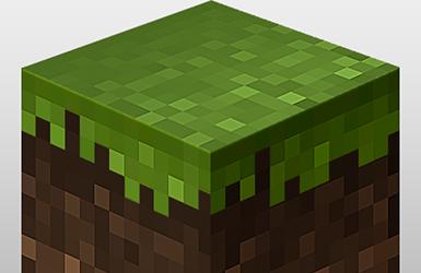 Minecraft Block Icon In Photoshop Iceflowstudios Design Training Minecraft Blocks Minecraft Photoshop