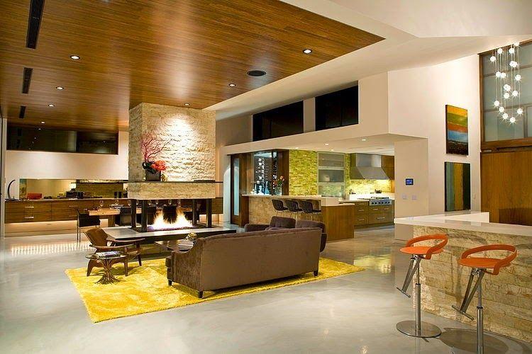 Diseño de Interiores & Arquitectura: Moderna Casa de dos pisos con ...