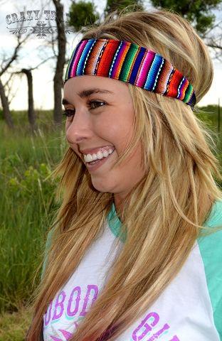 Serape Swank Headband by Crazy Train