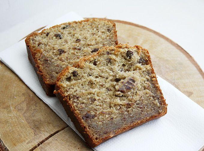 Banana Bread aux noix de pécan [ Recette healthy ...