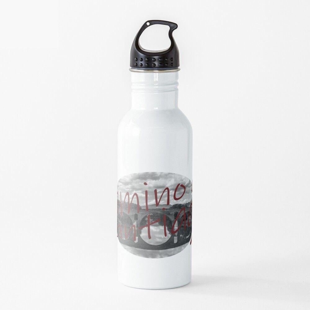 Botella de agua del camino de Santiago