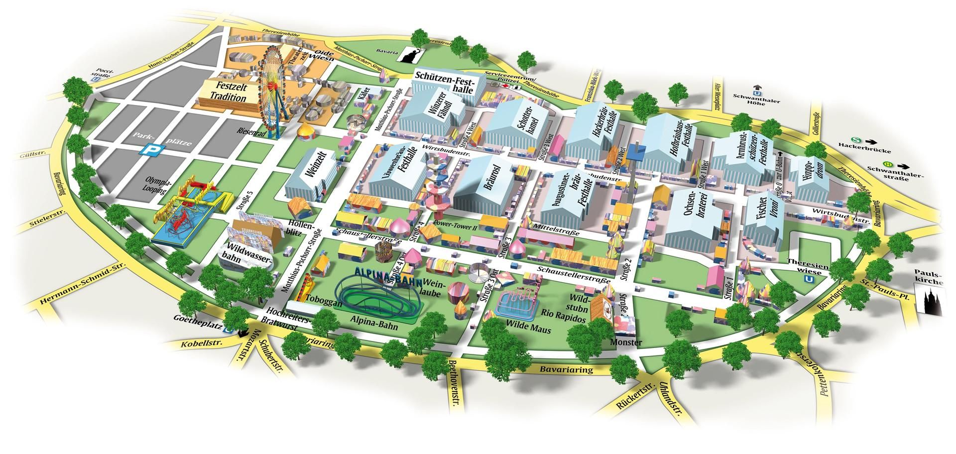 Wiesn Map 2011.jpeg (1920×912)  sc 1 st  Pinterest & Wiesn Map 2011.jpeg (1920×912) | oktoberfest | Pinterest