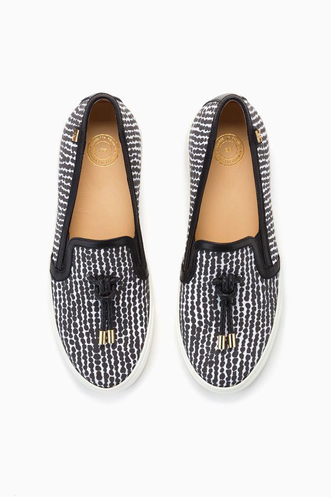 Slip-on stampate - Sneakers su Digital Store ELISABETTA FRANCHI - la Boutique online ufficiale, euro 236,00 SS2015