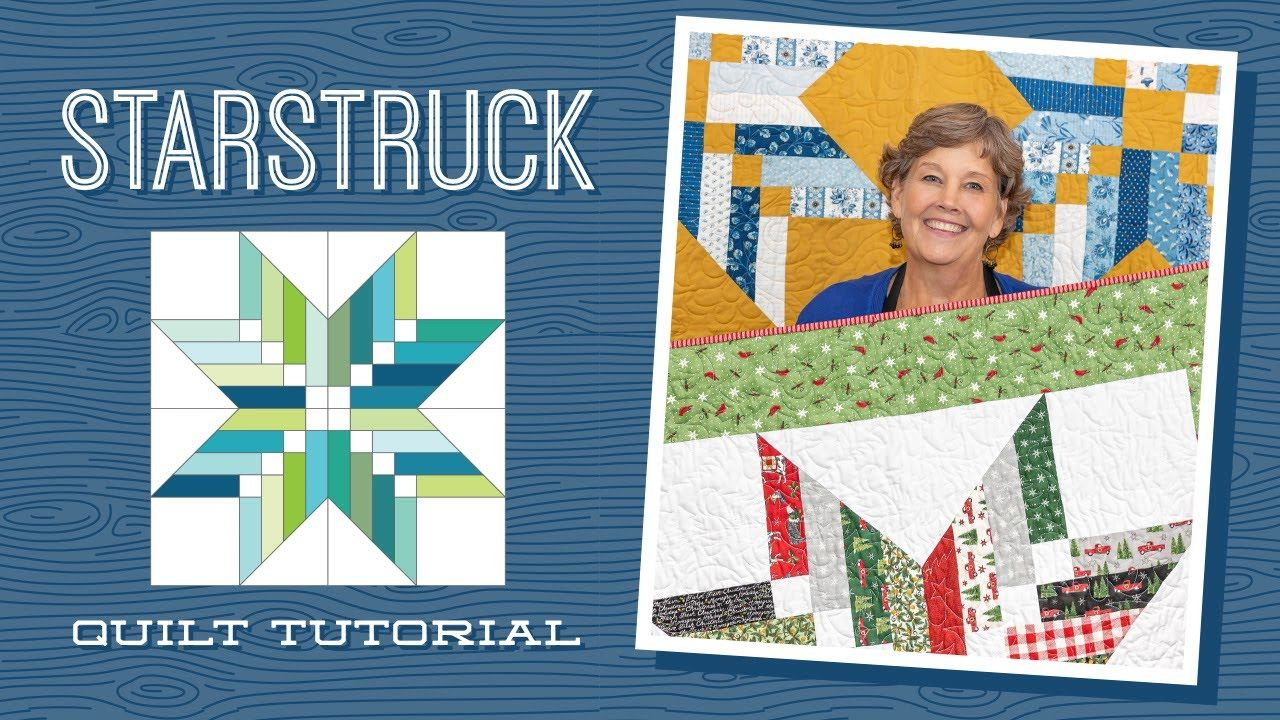 Make A Starstruck Quilt With Jenny Doan Of Missouri Star Video Tutorial Youtube In 2020 Missouri Star Quilt Company Missouri Quilt Missouri Quilt Company