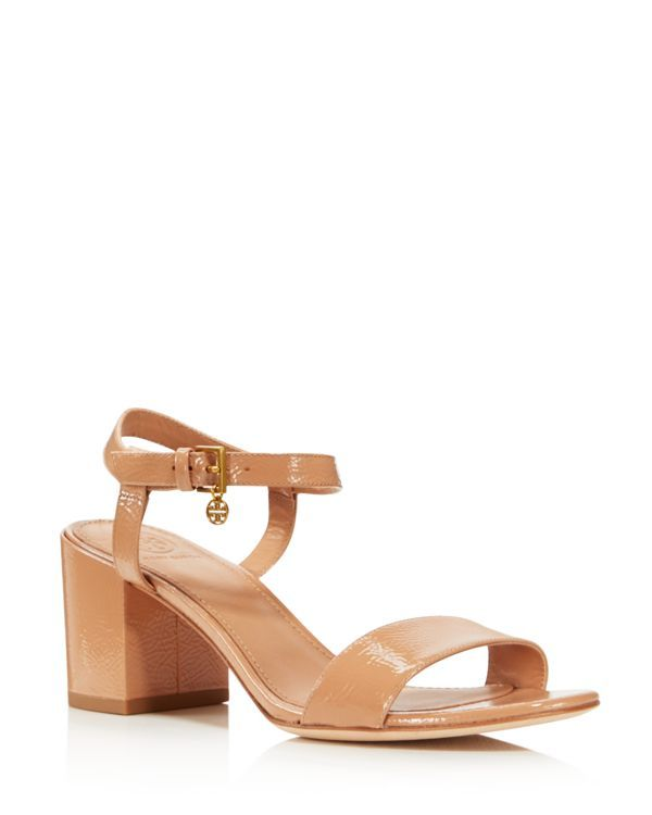 0a339a08b589 Tory Burch Women s Laurel Patent Leather Ankle Strap Sandals - 100%  Exclusive