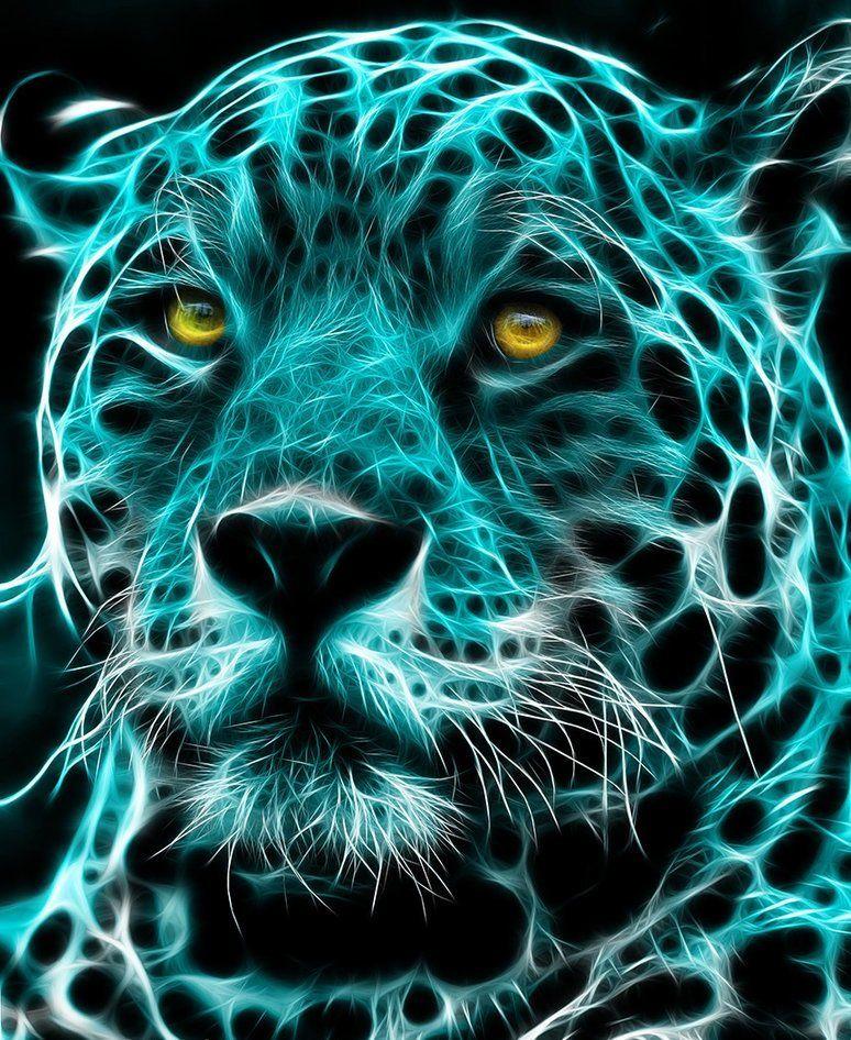 Fractal Art Animals Art Des Animaux Sauvages Animaux Mystiques Animaux Feroces