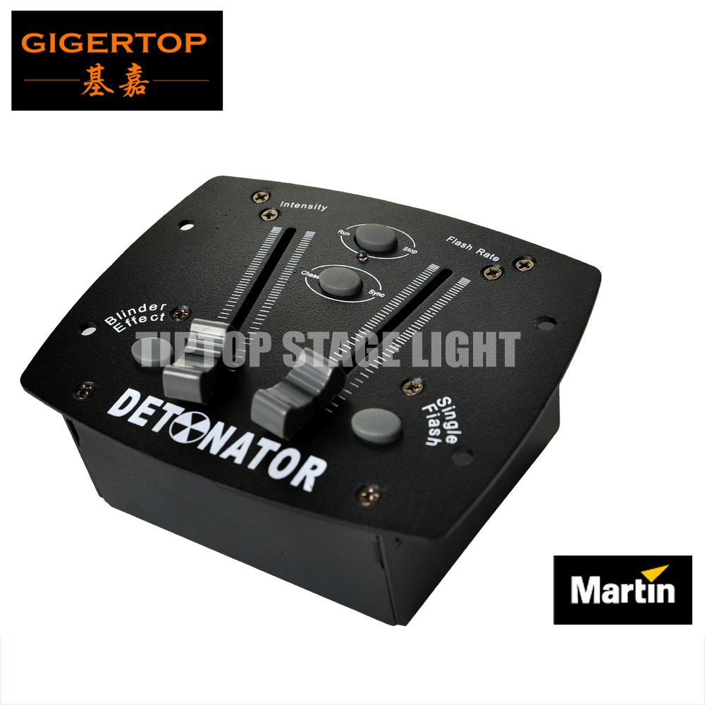 Martin Detonator Strobe Light Controller Remote Control Atomic 3000 Dmx Strobe Flash Rate Intensity Blinder Effect Single Flash Strobe Lights Blinds Strobing