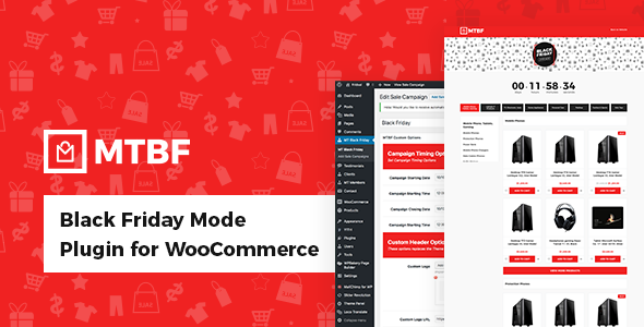 Black Friday Mode Plugin for WooCommerce Nulled | Nulled