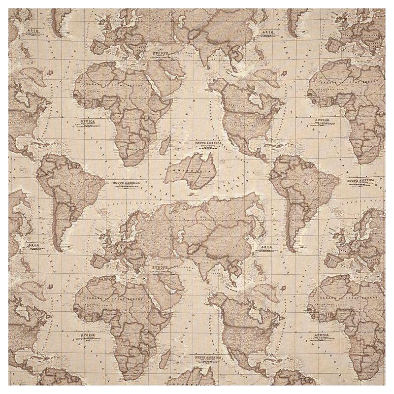 Buy john lewis world map curtain mocha john lewis decora mapa buy john lewis world map curtain mocha john lewis gumiabroncs Images