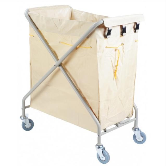 Heavy Duty Foldable Laundry Sorter Cart Linen Utility Cart Size