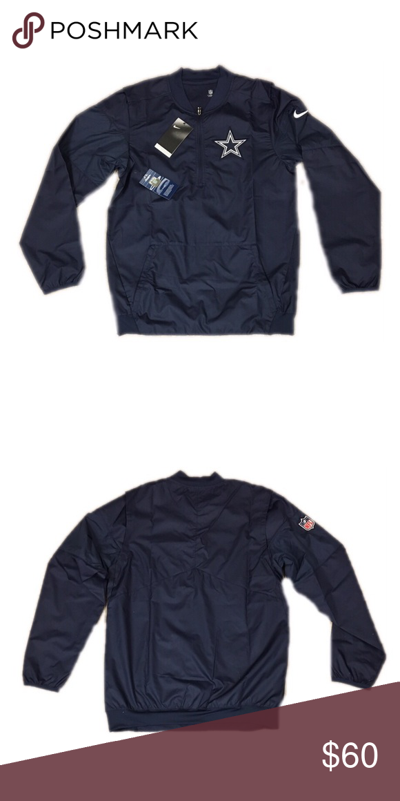 innovative design 5c6b1 3fc3f Dallas Cowboys Nike Men's Lockdown Jacket Small Brand new ...
