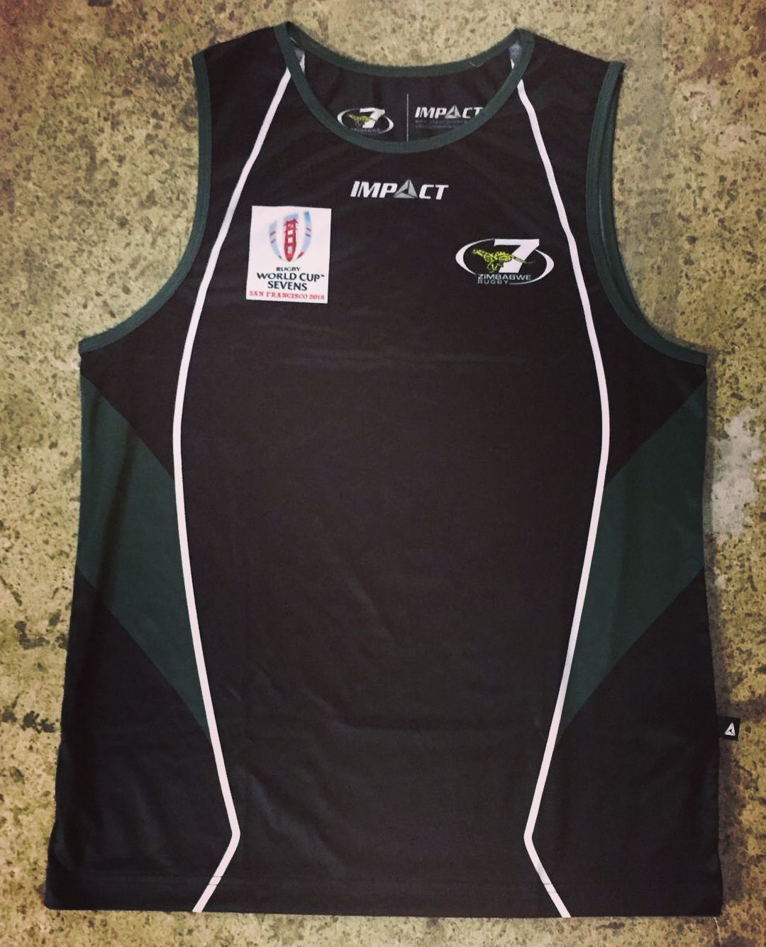 Official Zimbabwe Cheetahs Rugby 7s Training Vests For The Upcoming Rugby World Cup 7s In Sanfrancisco City Support In 2020 Rugby World Cup Rugby 7s World Cup