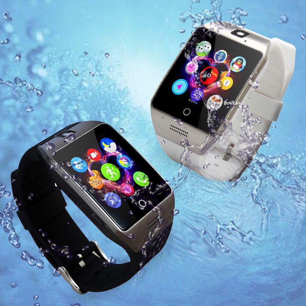 Q18 Bluetooth Smart Wrist Watch Touch Screen Phone w/ SIM