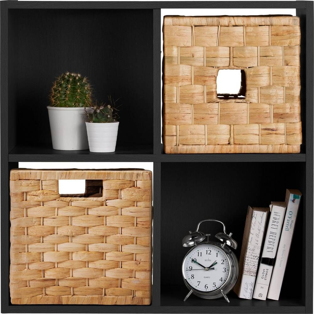Buy Argos Home Squares 4 Cube Storage Unit Black