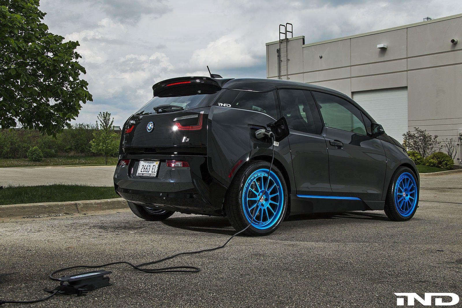 Bmw I3 Tuned By Ind Distribution Looks Meaner Than Usual Bmw I3