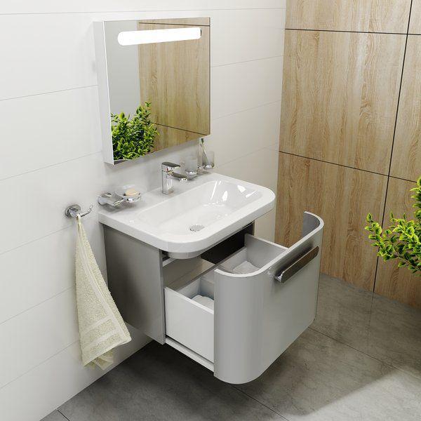 RAVAK SD Chrome 550 mosdó alatti szekrény / fürdőszobaszekrény ...