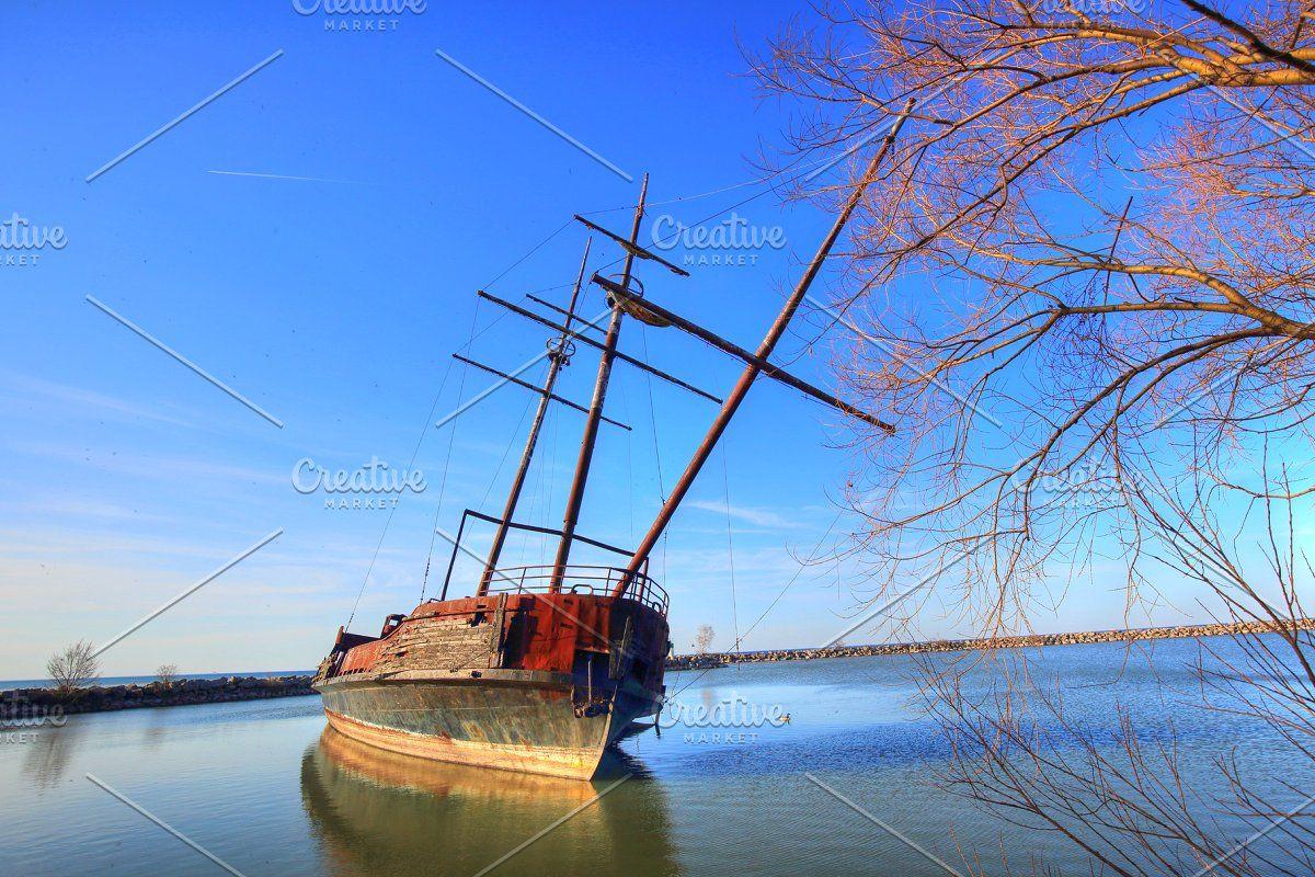 La Grande Hermine ship in Ontario in 2020 Ontario, Last