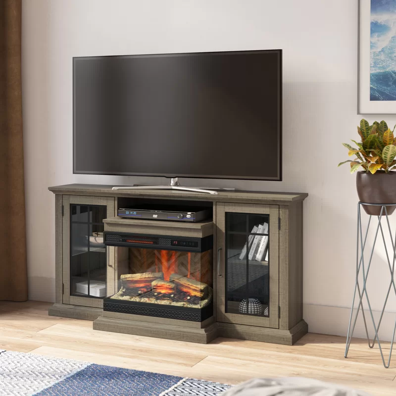 Gretchen Tv Stand For Tvs Up To 65 With Electric Fireplace