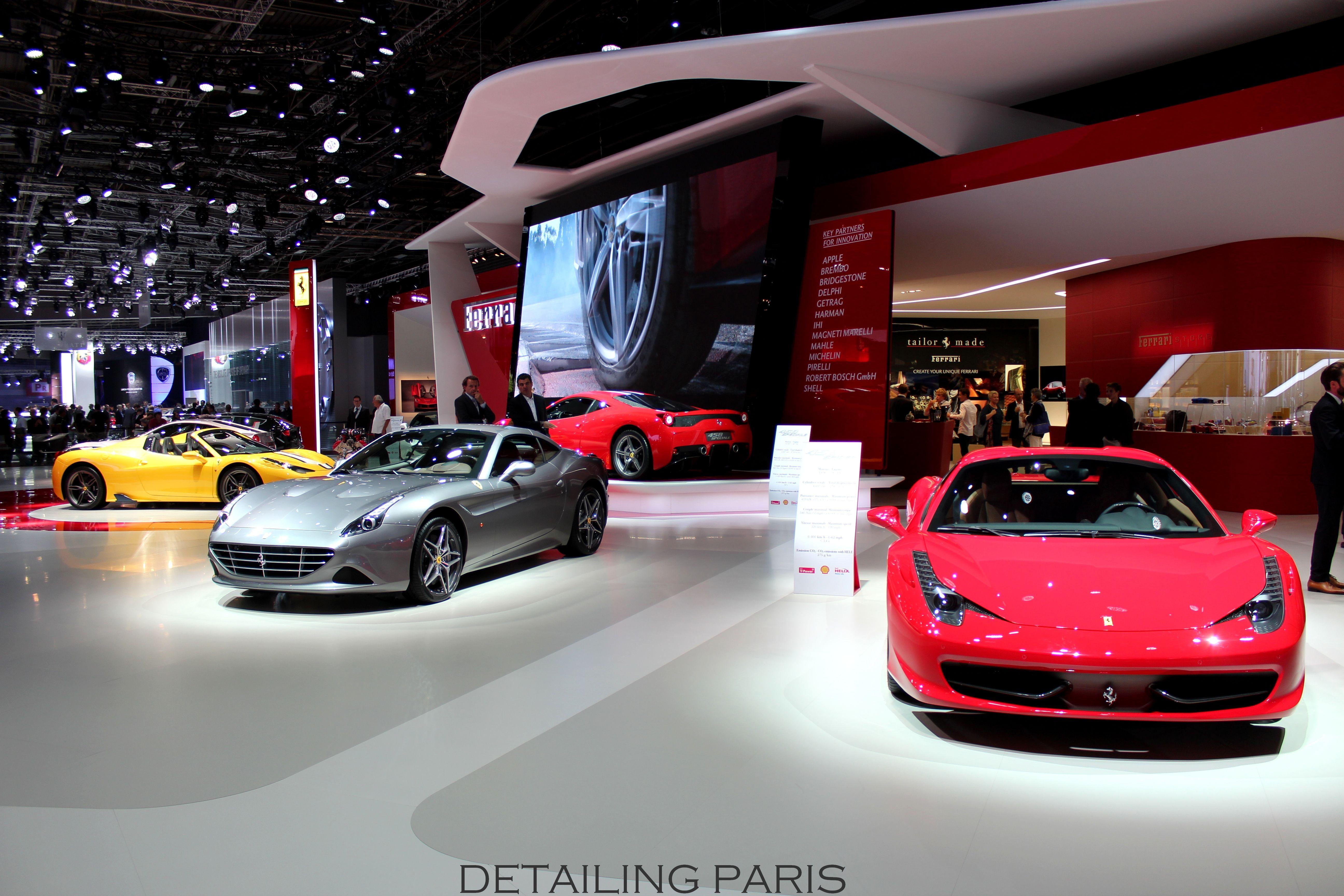 Mondial de l'automobile 2014 Paris - Stand Ferrari