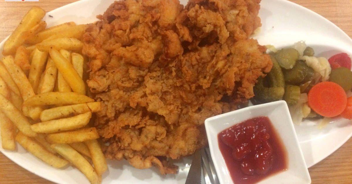 فيليه الدجاج المقلي والمقرمش بالصور من Hamoudy S Kitchen Recipe Recipes Rice Recipes Chicken