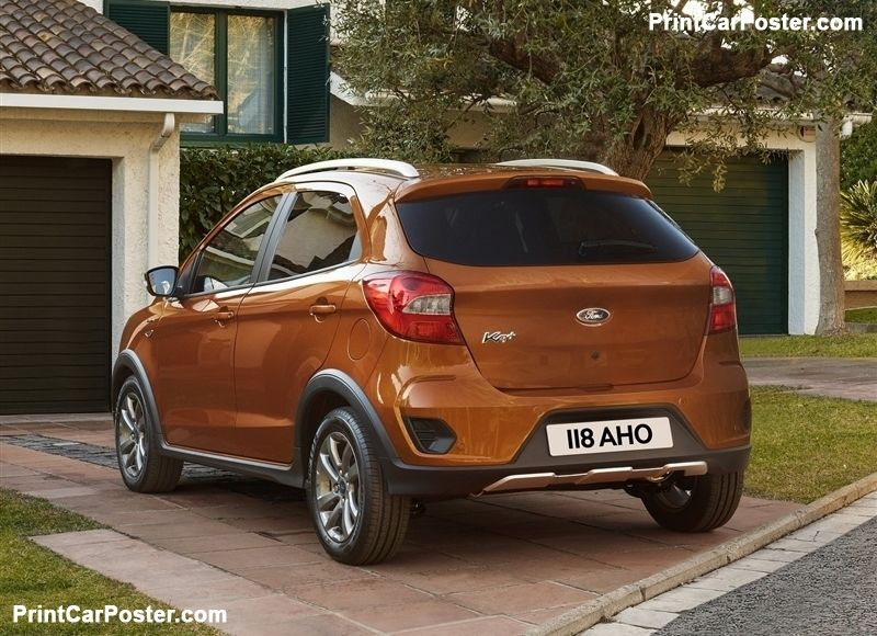 Ford Ka Plus Active 2019 Poster Carros