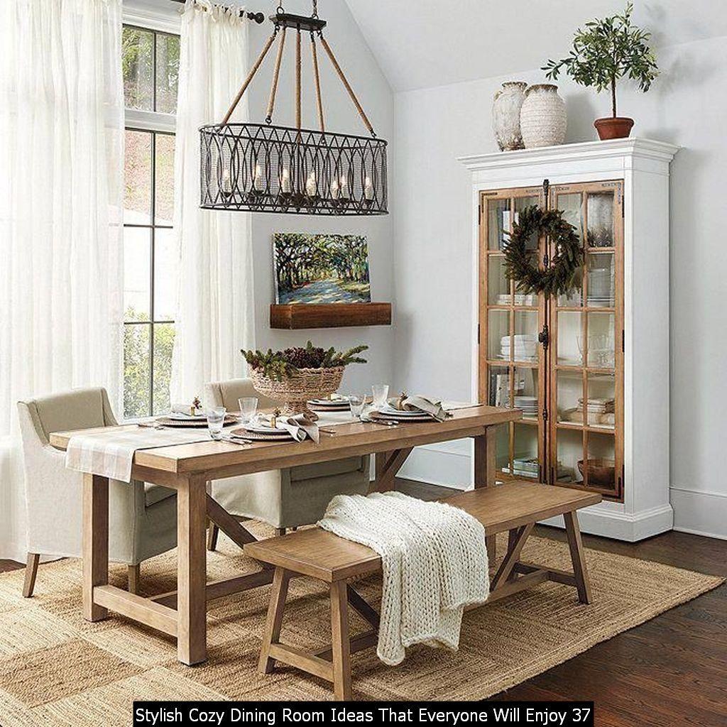 30 Stylish Cozy Dining Room Ideas That Everyone Will Enjoy Charming Dining Room Modern Farmhouse Dining Room Modern Farmhouse Dining Cozy dining room decorating