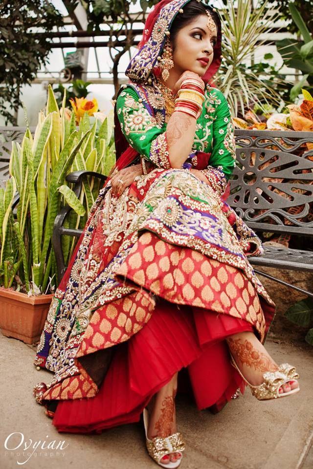 ♥ lengha ♥ bridal lehenga ♥ jewellery ♥ Indian ♥ fusion ...