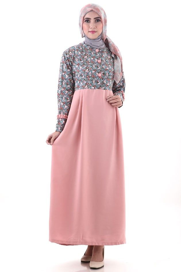 Katalog Busana Muslim Zoya Dress Terfavorit Model Busana Dresses