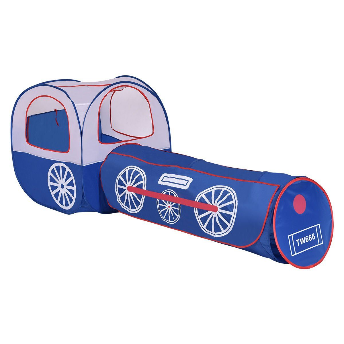 Costzon 2 In 1 Kids Tunnel House Pop-up Children Play Tent with Tunnel Tent and Zipper Storage Bag. Tent and tunnel can be used together or separately ...  sc 1 st  Pinterest & Costzon 2 In 1 Kids Tunnel House Pop-up Children Play Tent with ...