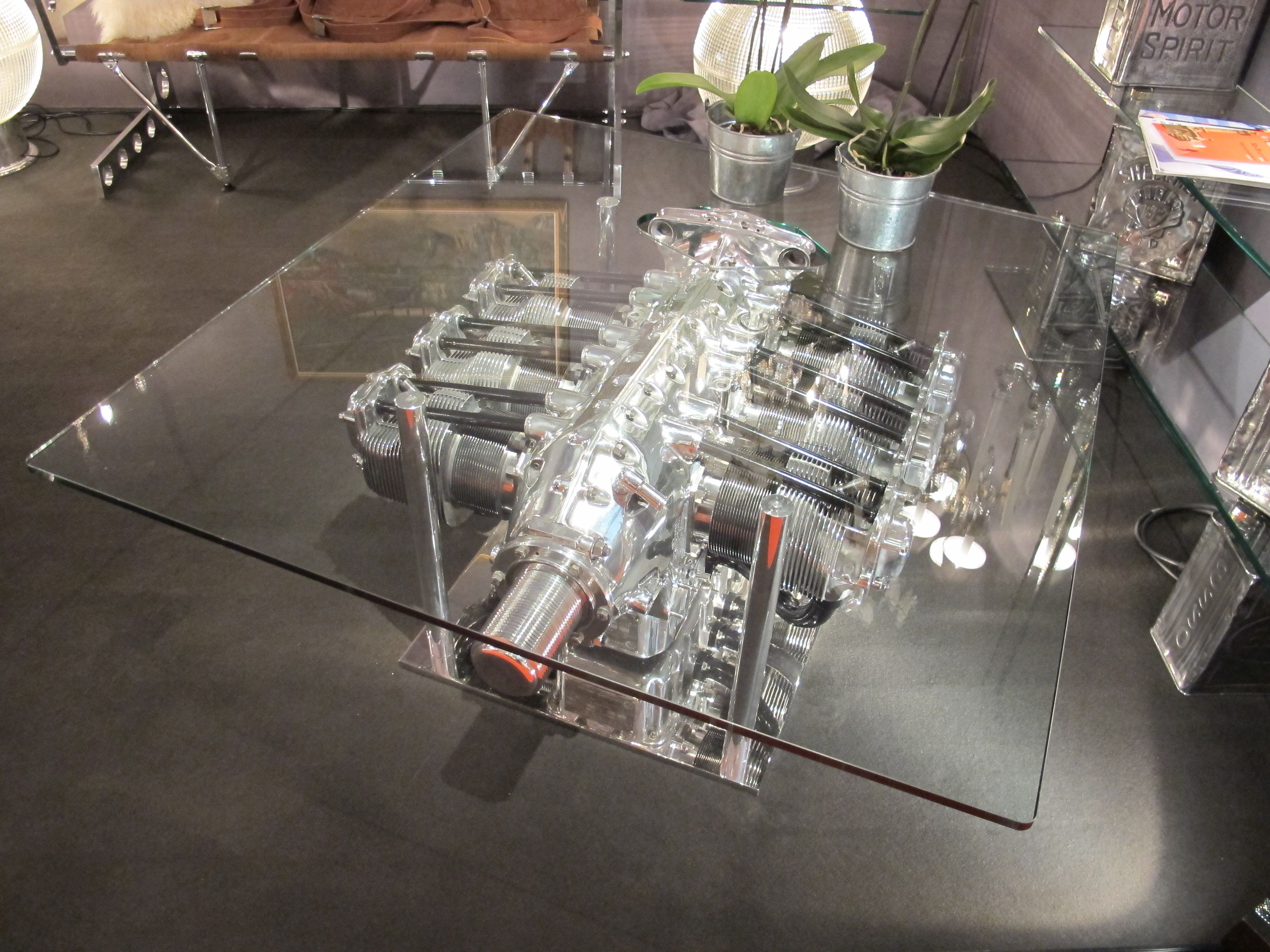 Table basse moteur avion moteur avion table moteur pinterest table basse table basse - Table basse moteur voiture ...